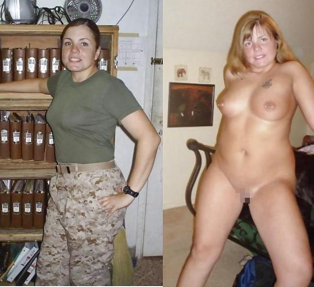 【海外エロ】兵士のまんさん、ヌードと軍服のギャップを見せつけるwwwwwww(29枚)・16枚目