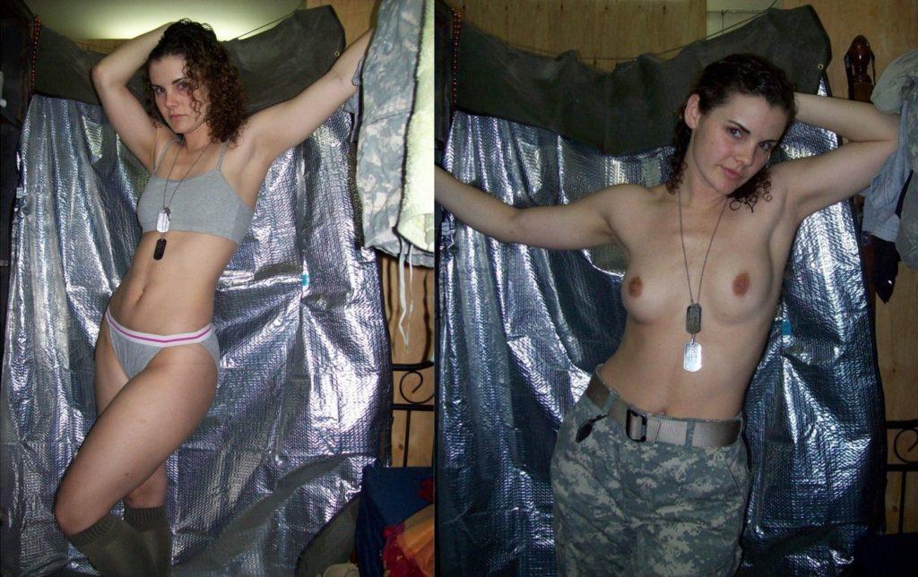 【海外エロ】兵士のまんさん、ヌードと軍服のギャップを見せつけるwwwwwww(29枚)・18枚目