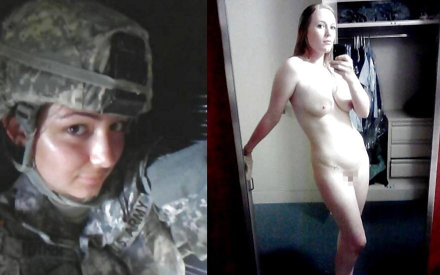 【海外エロ】兵士のまんさん、ヌードと軍服のギャップを見せつけるwwwwwww(29枚)・21枚目