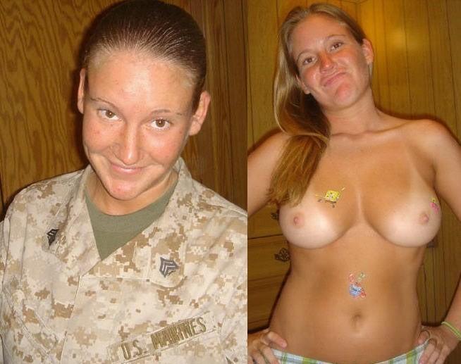 【海外エロ】兵士のまんさん、ヌードと軍服のギャップを見せつけるwwwwwww(29枚)・22枚目