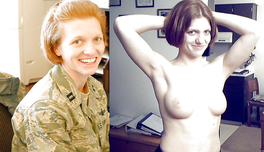 【海外エロ】兵士のまんさん、ヌードと軍服のギャップを見せつけるwwwwwww(29枚)・24枚目