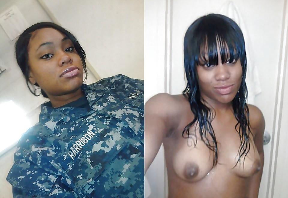 【海外エロ】兵士のまんさん、ヌードと軍服のギャップを見せつけるwwwwwww(29枚)・27枚目