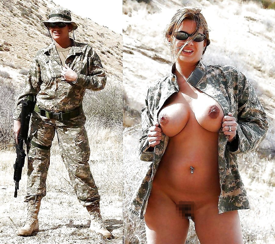 【海外エロ】兵士のまんさん、ヌードと軍服のギャップを見せつけるwwwwwww(29枚)・28枚目