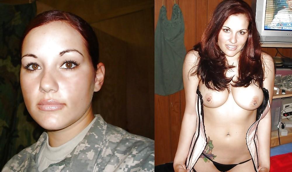 【海外エロ】兵士のまんさん、ヌードと軍服のギャップを見せつけるwwwwwww(29枚)・4枚目
