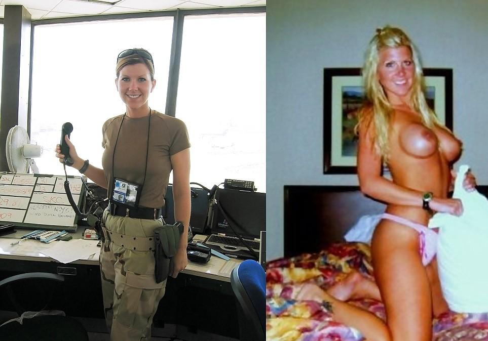 【海外エロ】兵士のまんさん、ヌードと軍服のギャップを見せつけるwwwwwww(29枚)・8枚目