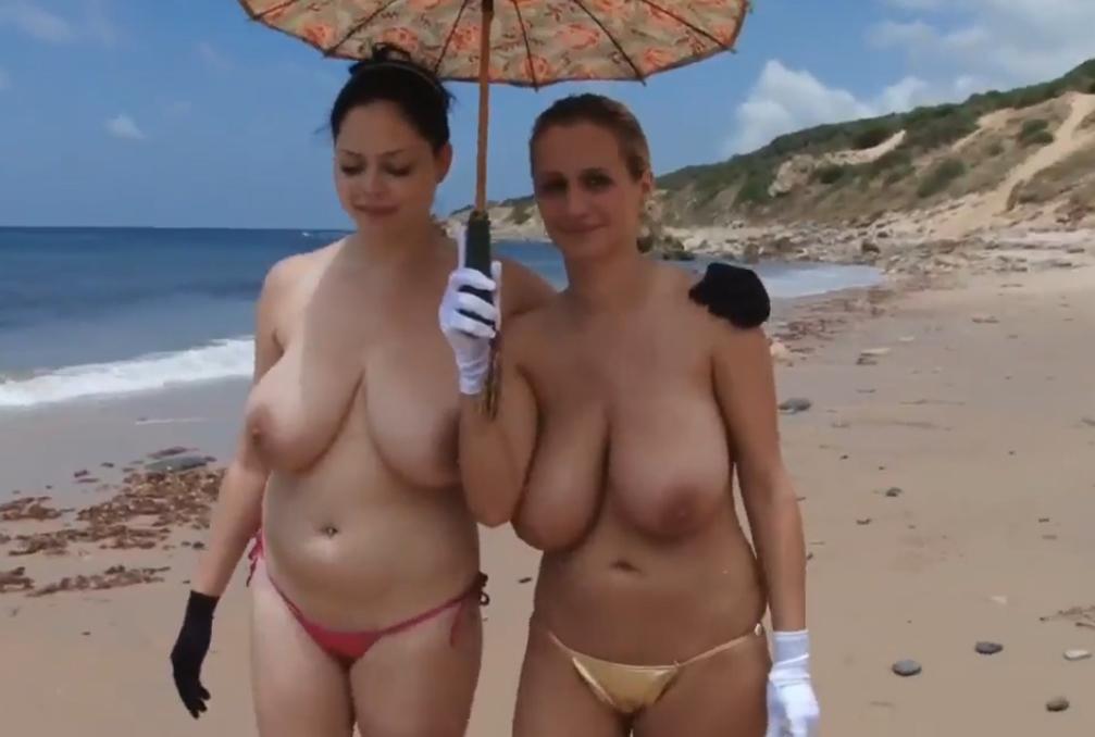 ヌーディストビーチに行ったワイ、好みのポチャ女だけ撮影して帰るwwwwwww(エロ画像)・10枚目