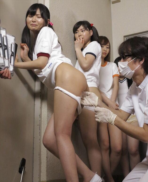 【エロ画像】女の子たちの身体測定を撮影するっていう鬼畜な行為をしたヤツwwwwww・4枚目