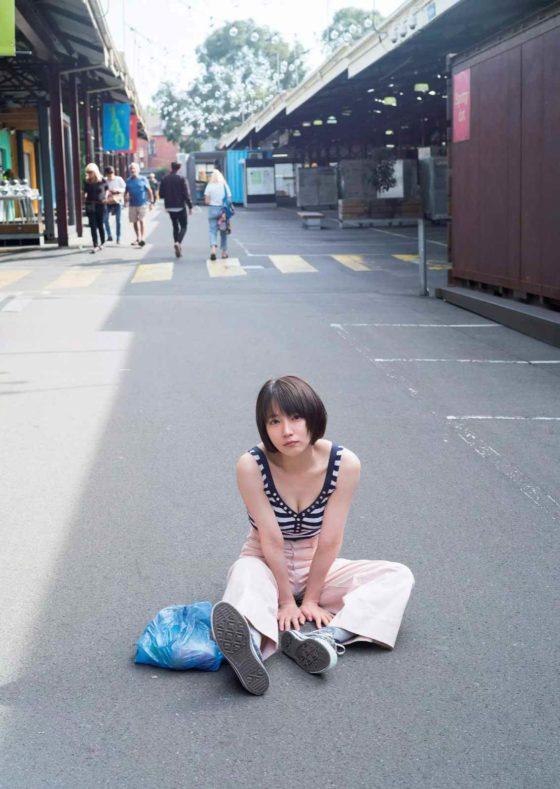 吉岡里帆さん(27)おっぱいの大きさをファンに見せつけ釘付けにするwwwww(GIFあり)・63枚目