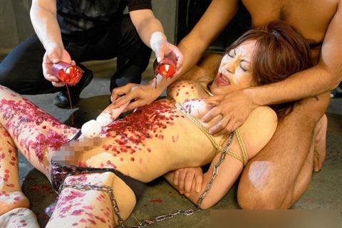 【調教エロ】ニューハーフが縛られ躾けられてるエロ画像。ハードすぎない?wwwww・3枚目