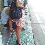 【ガチ盗撮】街中で女の子たちを狙う盗撮犯さん逆に盗撮され晒されるwwwww