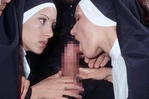 【エロ画像】絶対に処女じゃないシスターがこちら。神への冒涜です・・・・10枚目