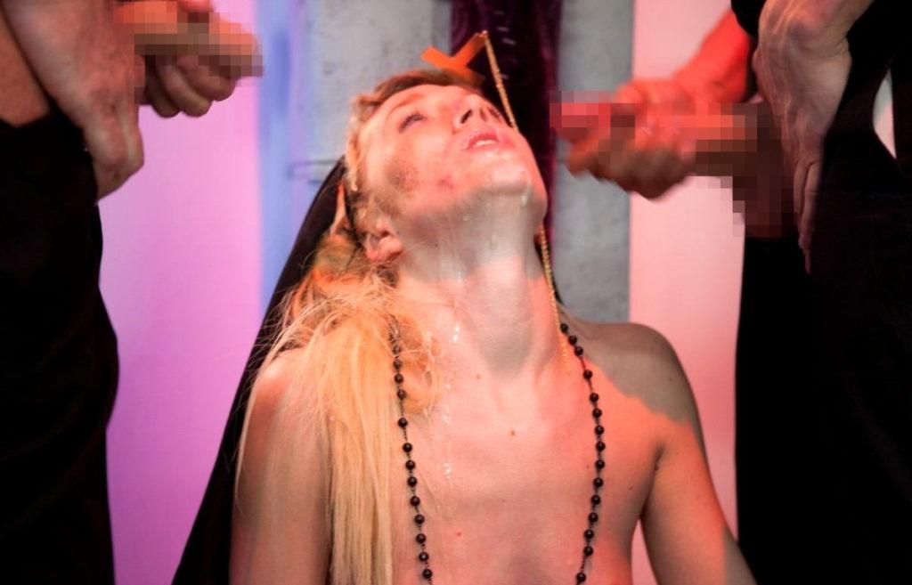【エロ画像】絶対に処女じゃないシスターがこちら。神への冒涜です・・・・5枚目