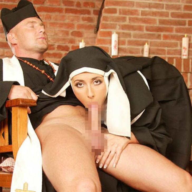 【エロ画像】絶対に処女じゃないシスターがこちら。神への冒涜です・・・・6枚目