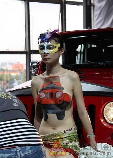 【エロ画像】ストリップ劇場と化した中国のモーターショー。車はいらんwwwwww・23枚目