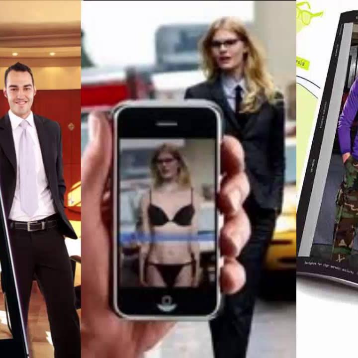 """【エロ画像】街中の女性たちが""""全裸""""に見える神アプリがあるらしいwwwwww・3枚目"""