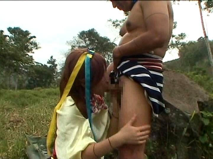 日本女VS原住民のガチンコSEX。当然のようにボロクソにされる・・・(エロ画像)・18枚目