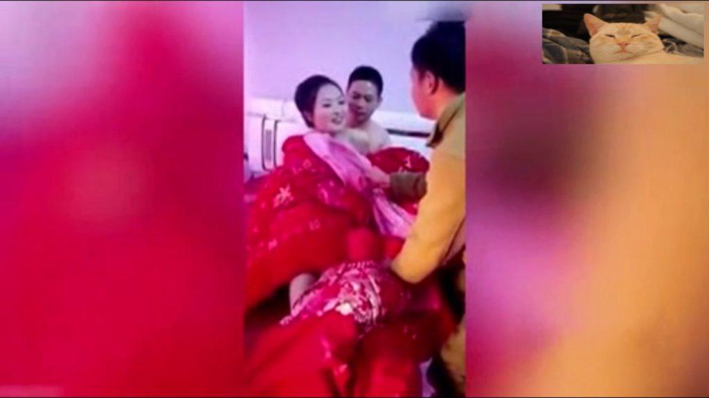 【中国エロ】結婚式で性接待させられる花嫁さん…この文化ヤバいwwwww・22枚目