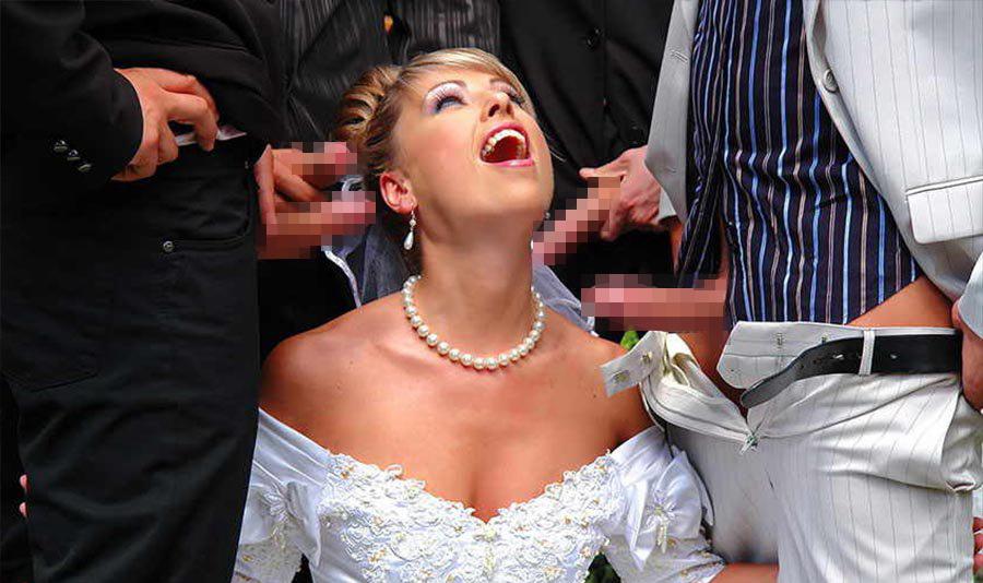 【エロ画像】結婚初夜の乱交パーティーの様子が想像を絶する・・・・・17枚目