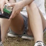 【エロ画像】海外で撮影されたショーパン女子、若すぎない?wwwwww
