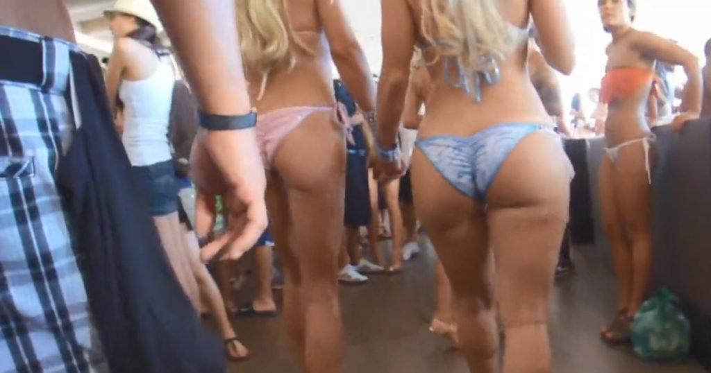 ビーチで拝める「ハミ尻・ハミマン」ここは天国ですか?wwwwww(35枚)・21枚目