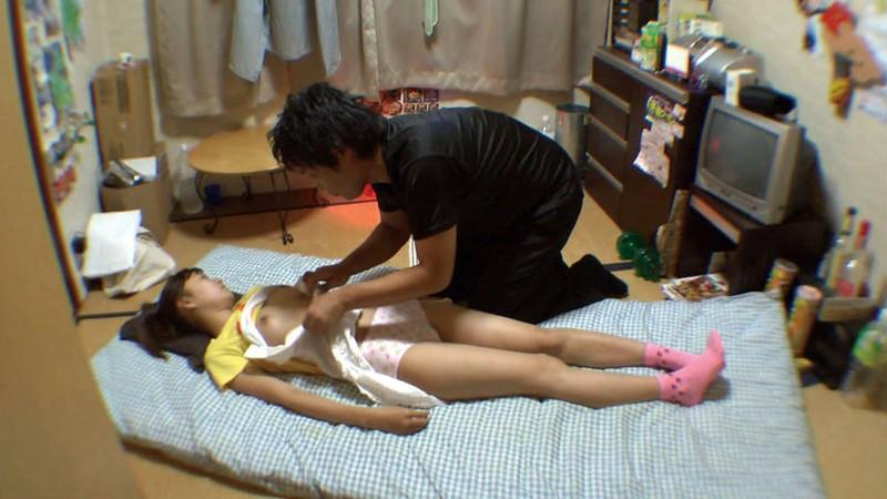 【エロ画像】寝てる女の子、知らぬ間にイタズラされ撮影される・・・・21枚目