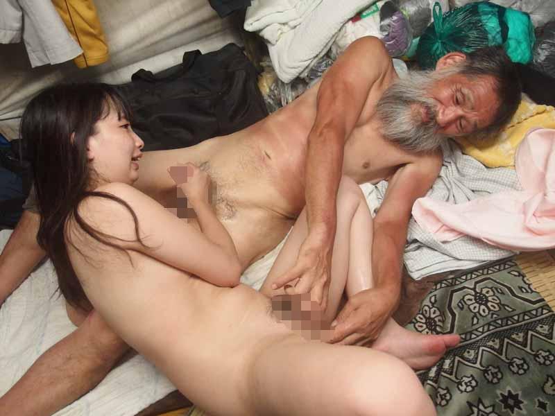【エロ画像】結婚初夜にホームレスに犯されるっていうシチュエーション・・・・・4枚目