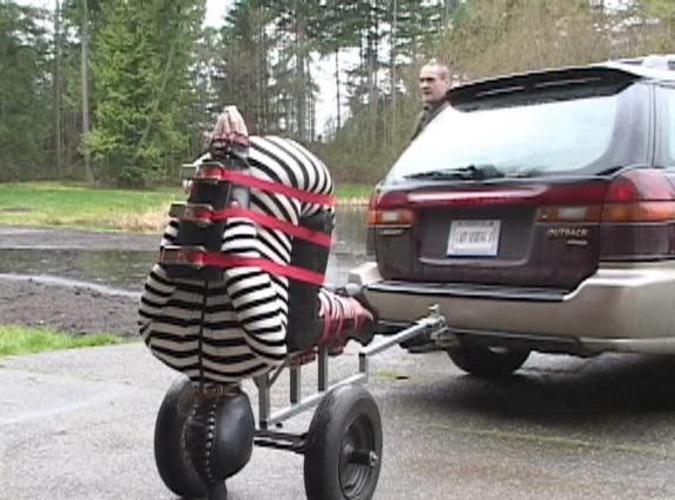 【エロ画像】女を人間と思ってない男のDOQ車がこちらです・・・・・・8枚目