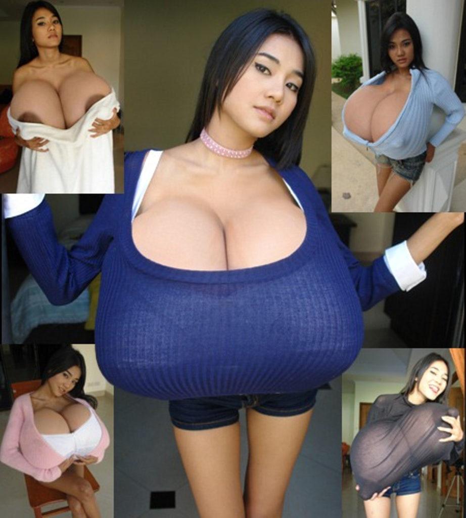 【爆乳エロ】世界のデカ乳女性のエロ画像まとめ。もうバケモノですわ・・・・6枚目