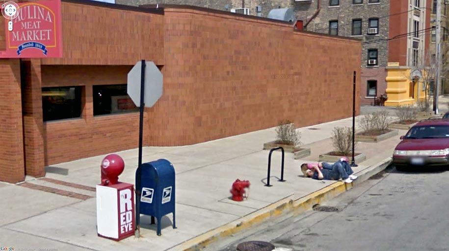 Google Mapのストリートビュー、もう盗撮カメラやったwwwww(画像28枚)・20枚目
