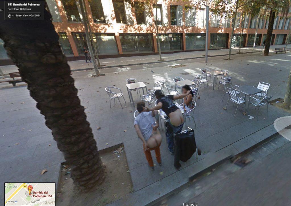 Google Mapのストリートビュー、もう盗撮カメラやったwwwww(画像28枚)・24枚目