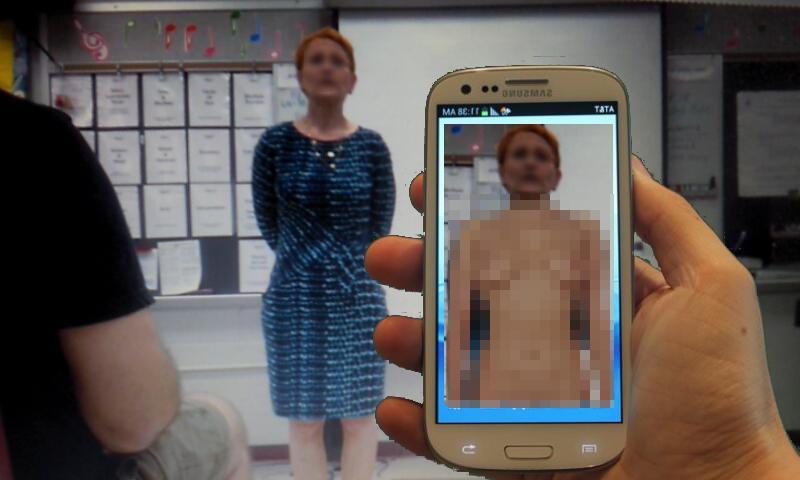 """【エロ画像】女の子を""""裸""""にできる神アプリが開発される。スゲーwwwww・2枚目"""