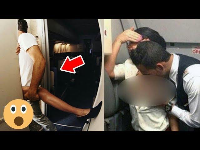 【エロ画像】フライト中の飛行機でガチSEXしてるアホが撮影されたwwww・4枚目