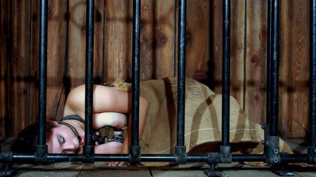 【エロ画像】何をヤラかしたらこうなるんですか??ゲージ内の女たち・・・・24枚目