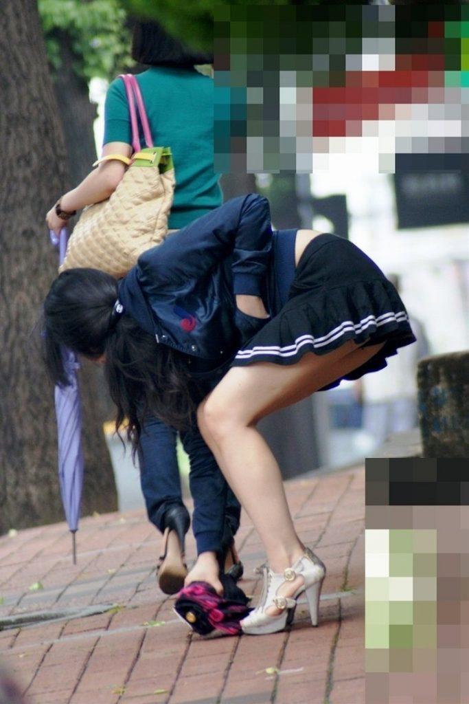 街撮り(韓国版)された美脚美女たちに興奮しかしない。。(エロ画像)・24枚目