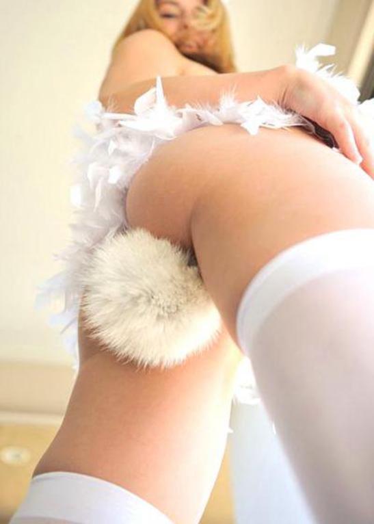 アナルプラグを尻尾に見せた女の子たち…これ入ってるよなぁ、、(エロ画像)・22枚目
