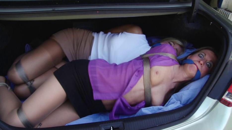 【誘拐エロ】拉致されたまんさん、運搬前に撮影された最後の画像がこれ・・・・14枚目